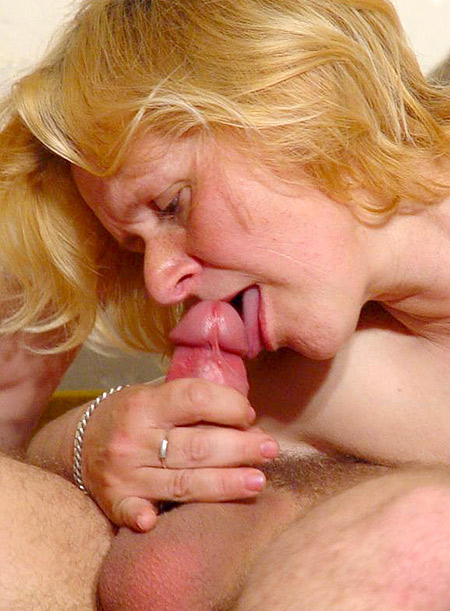 Thick Blonde MILF Anna Takes Cock Banging
