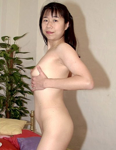 Asian MILF Lucy Playing with Her Pussy