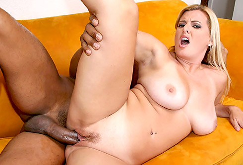 MILF Kayla Takes On a Big Black Dick