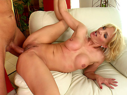 Lactating MILF Roses Enjoys Big Cock Banging